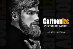 آموزش تبدیل عکس به کاریکاتور با فتوشاپ
