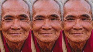 آموزش از بین بردن چین و چروک در فتوشاپ