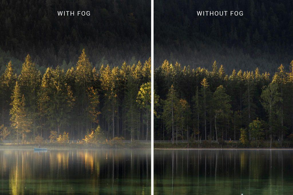 آموزش ایجاد مه در فتوشاپ