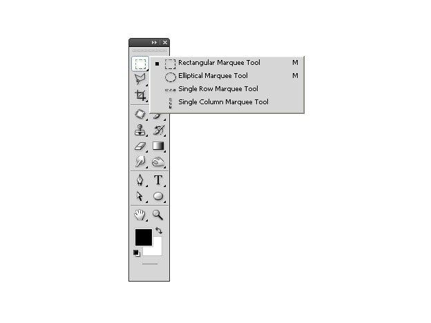 ابزار elliptical marquee tool در فتوشاپ